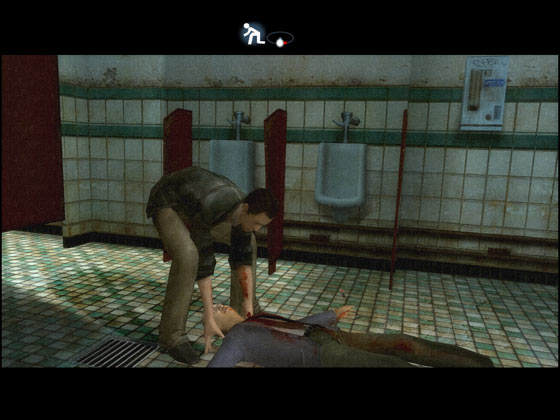 Lucas hiding the body in Indigo Prophecy