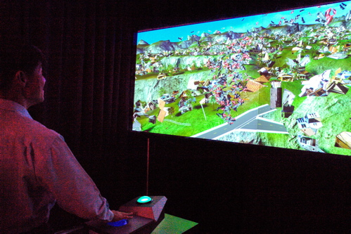 Scalable City, as installed at SIGGRAPH 2007